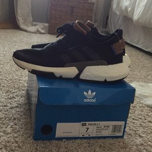 Adidas POD-S3.1 J Black/Gray/Timber- hard to find!